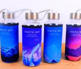 300ml de Fles van het Glas van de Sport van de Voorraad van de Fles van het Water van de Sport van het glas