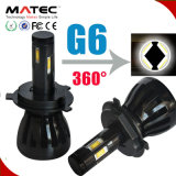 H3 H4 H7 H13 9005 du phare H1 de Matec G5 G6 COB/Phillips H1 DEL phare de 9006 DEL
