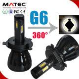 Faro H1 H3 H4 H7 H13 9005 di Matec G5 G6 COB/Phillips H1 LED un faro dei 9006 LED