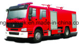 HOWO Brand Fire Fight Truck 또는 Fire Rescue Truck