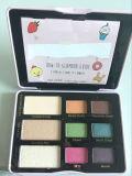 Knalt de ook Onder ogen gezien Suiker van de Chocoladereep Palet van de Oogschaduw van 3 Reeksen het Kosmetische