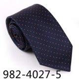 Moda DOT seda nuevos hombres del diseño / poliéster corbata (4027-5)