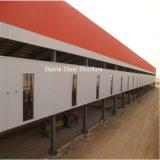 Haltbare und niedrige Kosten-vorfabriziertes Stahlkonstruktion-Gebäude