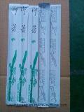 Chopsticks de bambu descartáveis convenientes com luvas de papel