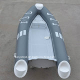 2.4m-5.2m Liya Hypalon inflable Costilla Barco de China