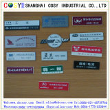 Tarjeta del color del doble del ABS del grabado del CNC con el alto pegamento
