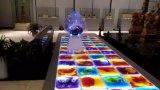 Líquido líquido LED Dance Floor del diseño del partido de la boda de la barra de noche del club del disco ligero más nuevo de Satge