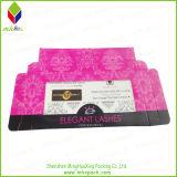 普及したピンクの印刷の折るまつげボックス