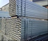 Tubo de acero/tubo de acero rectangulares/cuadrados galvanizados Q235 de la construcción