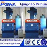Machine de grenaillage de cheminement P.R. de chenille