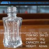 Cristalleria e bottiglia uniche di disegno per il servizio della bottiglia del polacco di chiodo