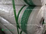 HDPEの糸は干し草ベールネットのサイレージの覆いSiatka RolniczaをするベルをするPolskaを編んだ