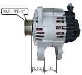 12V 120A Alternator for Valeo Hyundai Lester 11188 2655524