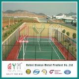 Belüftung-überzogener Kettenlink-Zaun-/Tennis-Gerichts-Zaun-Basketball-Spielplatz-Zaun