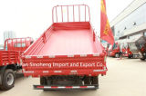 290HP Sinotruk HOWO 트럭 팁 주는 사람 4X2 6wheels