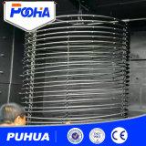 固体正方形のクリーニングのための産業ホックのタイプショットブラスト機械