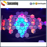 Lámpara de pared Panel de decoración de la boda DJ Iluminación Efecto 3D LED