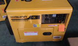 9HP, 4800W CE goedgekeurd 4.8kw Silent Diesel Generator (WH5500DGS)