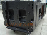 50 aéronautiques Dual 15 '' Three Way Line Array, 18mm Plywood Speaker