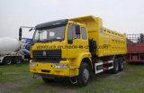 LHD/RhdのHOWO 6X4 336HP 10の車輪のダンプのダンプカートラック