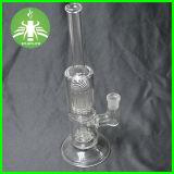 Shower Tree Perc Glass Pipe, Glass Water Pipe, Borosilicate Glass