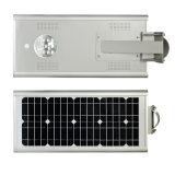 Precio barato IP65 15W todo en una luz de calle solar del LED