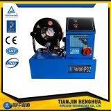 """セリウムの公認のフィン力ISO P32の油圧1/4台の"""" ~2 """"ホースひだが付く機械"""