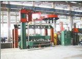 فولاذ إطار العجلة عملاقة هيدروليّة يعالج صحافة آلة/معدّ آليّ مطّاطة