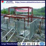 Chambre préfabriquée de construction légère de structure métallique de bâti