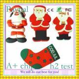 Горячая Рождеств-Подарк-Рыб-Форм-USB-Вспышка сбывания (GC-S1225)
