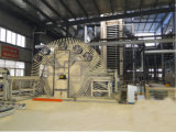 20000~100000 Cbm d'un an la chaîne de production feuilletante complètement automatique de HDF/MDF/Ldf de la machine chaude de presse