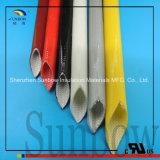 Rubber van het silicone bedekte de ElektroGlasvezel Sleeving van Silicone 2760 met een laag