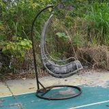 Presidenza d'attaccatura del rattan di alluminio rivestito della polvere per il giardino