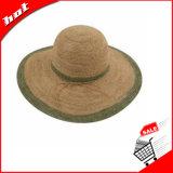 Chapéu de palha flexível do Raffia
