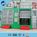 De dubbele Controle van de Apparatuur VFD van de Veiligheid van de Bouw van de Lift van het Hijstoestel van de Bouw van de Cabine