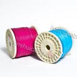 Fio elétrico flexível do PVC do rv