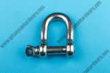 AISI 304 ou 316 Stainless Steel European Type Dee Shackle