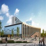 Proyecto arquitectónico exterior de la representación del centro de aptitud