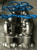 造られた鋼鉄高圧溶接停止弁