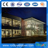 Parete divisoria del tessuto della facciata di tensione PVC-Rivestita stampabile di architettura per la parete divisoria di vetro della costruzione della costruzione