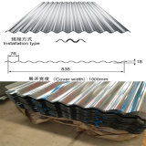 Precio acanalado galvanizado Z100 de la hoja de acero de ASTM A653