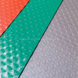최신 판매 싼 가격 방수 PVC 마루는 화폐로 주조했다