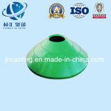 Peça da bacia do cone/triturador do cone côncava e envoltório