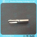 Stok van de Haak 8GB USB van Carabiner van het Metaal van het Embleem van de douane de Zilveren (ZYF1738)