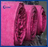 рулон ткани Microfiber красного цвета полиамида 80% Polyeaster 20% (QH788755)