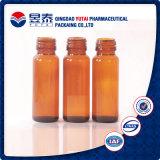 Frasco de vidro líquido de óleo essencial do conta-gotas