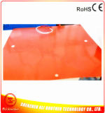 Silikon-Gummi-Schnee-schmelzende Auflage-Silikon-Gummi-Heizung