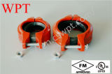 FM UL 세륨을%s 가진 홈이 있는 Fire Pipe Fitting Rigid Coupling
