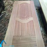 自然な木はドアの皮/積層の形成されたMDF Doorskinに張り合わせた