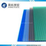 4つのカラーは100%年のバージン材料によってポリカーボネートのプラスチックシートを曇らした